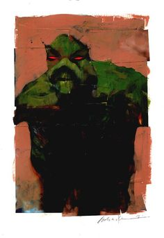 Swamp Thing by Dave McKean