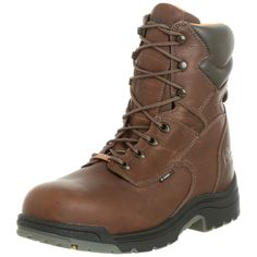 Timberland PRO Mens 47019 Titan 8 Waterproof Safety Toe BootBrown9 M