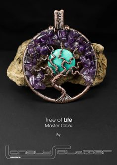 Tree of Life Pendant Master Class PDF by by GlastoWireStudioUK