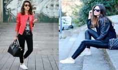Outfits casuales con converse Converse, Outfits 2016, Bomber Jacket, Chic, Womens Fashion, Jackets, Google, Shabby Chic, Elegant