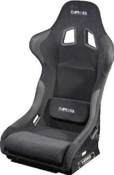 NRG RSC-300  carbon fiber bucket seat (large) Racing Seats, Sport Seats, Car Seats, Golf Cart Seat Covers, Truck Seat Covers, Princess Car, Jeep Sport, 2016 Jeep, Bucket Seats