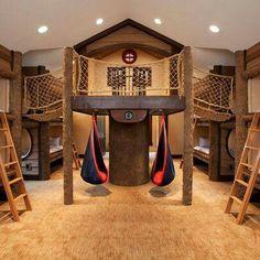 ficou bemmmmmm esportivo adoreiii a casinha de madeira fibou bommmmmm