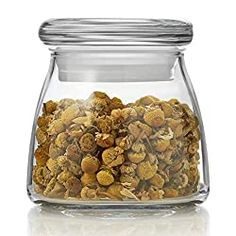Libbey Vibe Mini Glass Jars with Lids, Set of 12 Glass Spice Jars, Spice Bottles, Glass Jars With Lids, Drying Mint Leaves, Glass Storage Containers, Storage Jars, Food Storage, Storage Ideas, Storing Spices