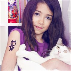 Panda Bear - Tattoonie #temporarytattoos #tattoonie #t4aw #tattoos