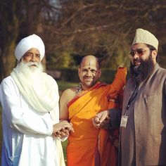 picture of the day  a Sikh, a Hindu, and a Muslim. We may have...