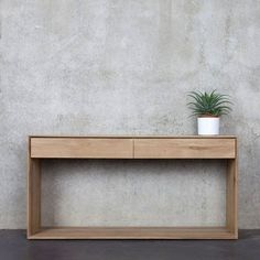Oak Nordic Console by Nook, Hong Kong Furniture and Accessories by HOMES & LIVING