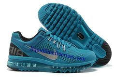 wholesale dealer 0b6d2 f52b3 Cheap Nike Free US Size for Sale Mens Nike Air Max 2013 Blue Glow Black  Silver Shoes  nike free for sale -