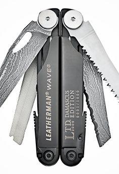 Leatherman••Wave••LTD. Damascus Edition