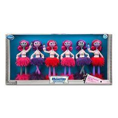 "NEW Disney Monsters University - Deluxe 11"" Fashion 6 Dolls Gift Set #Disney"