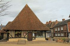Beuvron-en-Auge, halle Region Normandie, Medieval Market, Calvados, Beaux Villages, Visit France, England And Scotland, Lithuania, Sardinia, Crete