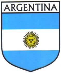 ARGENTINA Flag Country ARGENTINA Flag Sticker