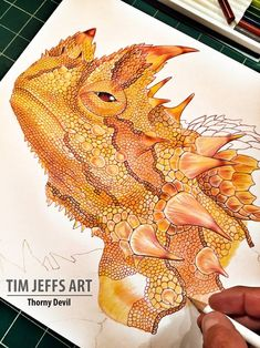 HD Decor Images » Mojave desert map I love deserts  I must experience their beauty     WIP  2  Thorny Devil    Scales  scales and