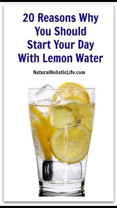 20 Reasons To Drink Lemon Water #Health #Fitness #Trusper #Tip