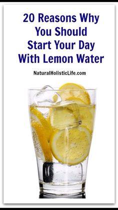 20 Reasons To Drink Lemon Water #Health #Fitness #Trusper #Tip
