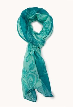 Paisley Print Scarf | FOREVER21 - 1077361698