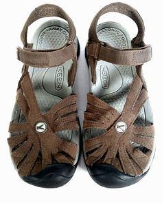 7f91770d4e3 KEEN 6.5 Sandals BROWN SPORT SANDALS  ROSE   EXCELLENT  SIZE 6.5  KEEN   SportSandals