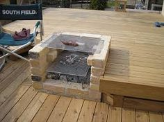 """Awesome """"fire pit furniture ideas"""" info is available on our web pages. Surf House, D House, House Deck, Deck Design, House Design, Brick Bbq, Patio Grill, Fire Pit Furniture, Deck Construction"""