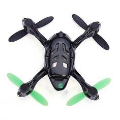 Hubsan X4 H107C 4CH RC Quadcopter 2.4G 6 Axis Gryo 0.3MP Camera RTF - Black & Green