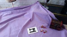 Light Purple solid cotton lycra fabric, 4 way stretch knit fabric - 185cm wide