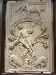 Légende de Saint Baarlam, XIIIe siècle, Musée épiscopal, via San Romano…