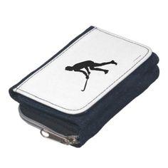Grass Hockey Player Wallet