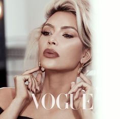 VOGUE Kim Kardashian West