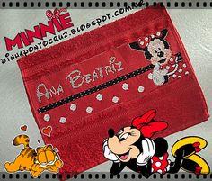 Dinha Ponto Cruz: Minnie Mouse Ponto Cruz