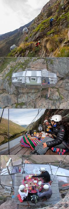 Wanderlust: Skylodge in Peru