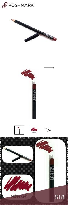 Laritzy Cabernet Lip Pencil NIB! Box has a crease or two that occurred in shipping but box and pencil are new! Laritzy Makeup Lip Liner