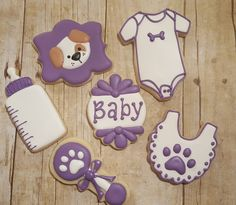 Baby Shower Cookies https://www.facebook.com/sweetcharleyconfections