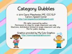 Free Bubble Categories game