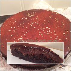 Konfektkake. A smooth chocolate cake. Tones kaker og andre søte saker