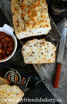 ... (savory) on Pinterest | Beer bread, Cheddar and Cheese bread