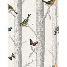 Holden Decor Holden Epping Forest Pattern Wallpaper Bird Butterfly Tree Woods Motif 12231 - All About Garden Wallpaper, Forest Wallpaper, Bird Wallpaper, Paper Wallpaper, Modern Wallpaper, Bathroom Wallpaper, Designer Wallpaper, Hallway Wallpaper, Wallpaper Designs