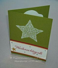Papierzaubereien und mehr   : Sterne die verzaubern...