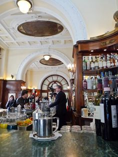 ~Gilli Caffe, Florence. Classic, high-end Italian coffee shop. One of the oldest remaining cafes in all of Italy. It is one of my favorite places to go for a coffee in the middle of the day when I'm in Florence   House of Beccaria#