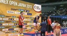 #JapanSS MS-F: Lee Chong Wei (MAS/1) 23-21 21-17 (JPN/7) Kenichi Tago congrats Dato