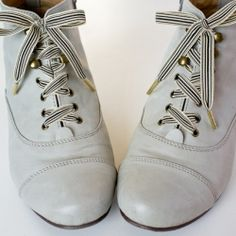 156a4c169ec7 Shoelaces may be one of the few things that anyone can enjoy. These  luxurious metal