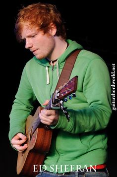 Ed Sheeran. The man that wears hoodies to performances, plays with Lego during interviews, sings with the voice of an angel, and writes purely from his heart and soul.