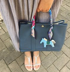 Hermes Garden Party, Rodeo Charm and Twilly