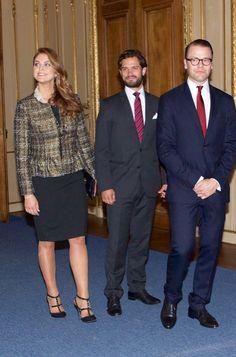 Princesse madeleine son frère et le prince Daniel son beau frère