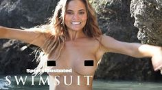 Nina Agdal Wears A Chain Bikini In This Steamy Photoshoot | Intimates | Sports Illustrated Swimsuit - YouTube