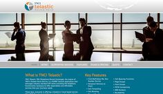 Another site by Boire Benner went live today! www.Telastic.com  We love how clean and sleek this site is. Telastic was modeled to fit the client's branding, working seamlessly into their current structure. We can work with any company, big or small!