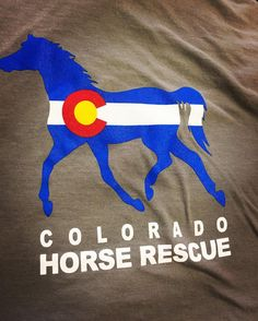 So excited for the new Colorado design for @coloradohorserescue Check out their programs and their awesome apparel!!! #skazma #colorado #coloradohorserescue #chr #longmont #supportlocal #like #comment #follow