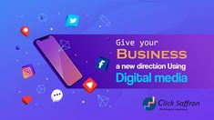 Clicksaffron is one of the best digital marketing agency in Delhi NCR which helps to drive your business in a new direction which directly increases sales. Viral Marketing, Email Marketing, Content Marketing, Social Media Marketing, Digital Advertising Agency, Digital Marketing Services, Computer Network, Digital Media, Seo