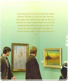 """Vincent and the Doctor - Doctor Who """"Everywhere we look, the complex magic of nature blazes before our eyes."""""""