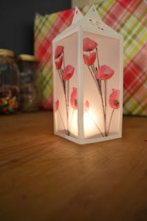 Simple DIY Vellum luminaries :)