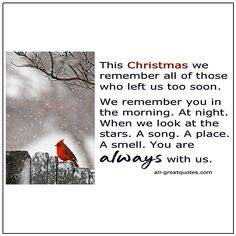 Loss Grief Quotes, Grief Poems, Grieving Quotes, Christmas In Heaven, Christmas Poems, Merry Christmas, New Week Quotes, Free Birthday Card, Xmas Pictures