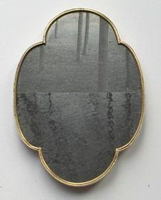 photoetching brooch.  Bettina Speckner,  Schmuck Jewellery