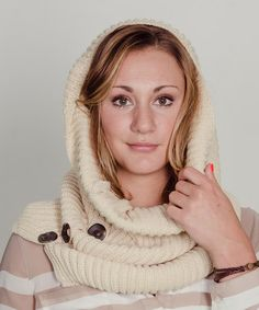 Another great find on #zulily! Ivory Ribbed Oversize Neck Warmer by Stay Warm In Style #zulilyfinds